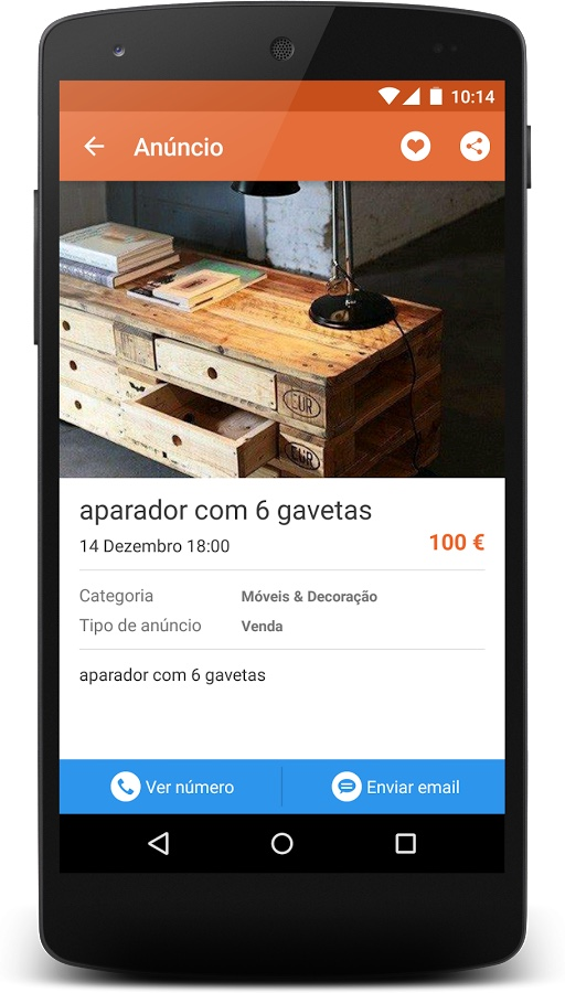 android app custojusto 2
