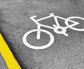 Bicicletas, rua, ciclovia